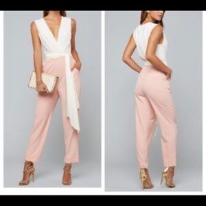 Bebe new with tags colorblock jumpsuit